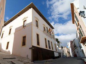 Can Botino avui acull l'Alcaldia de la ciutat, el Saló de Plens i l'Arxiu Històric