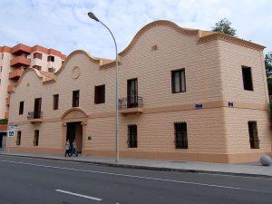 L'antiga fàbrica Can Ventosa, a l'avinguda d'Ignasi Wallis