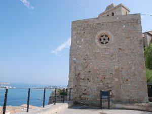 Rosetó an la façana lateral de la capella del Salvador