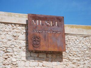 Al Museu Arqueològic s'hi accedeix des de la plaça de la Catedral