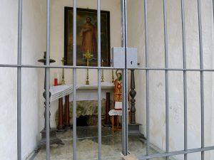 Interior de la capella de Sant Ciriac