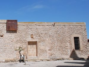Seu de la Universitat, a Dalt Vila. Alberga part del Museu Arqueològic