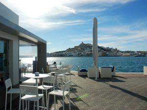 El restaurant Calma és al port esportiu Marina Eivissa