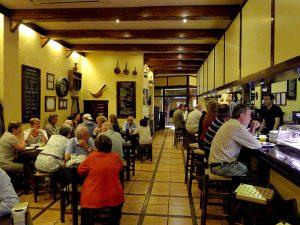 Taverna de pinxos El Zaguán, a Bartomeu Roselló