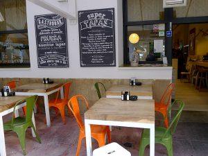 El restaurant Sa Brisa té dues terrasses